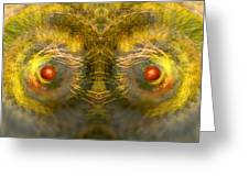 Eyes Of The Garden-1 Greeting Card
