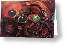 Eyes Of The Universe # 5 Greeting Card