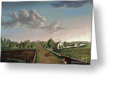 Ezekiel Hersey Derby Farm Greeting Card