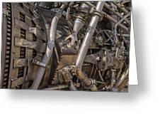 F-1 Rocket Engine Greeting Card