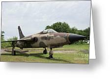F-105 Thunderchief - 1 Greeting Card
