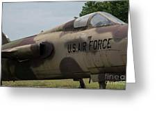 F -105 Thunderchief - 2 Greeting Card