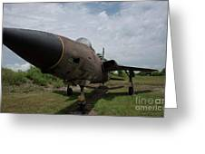 F - 105 Thunderchief Greeting Card