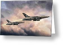 F-105 Thunderchief Greeting Card