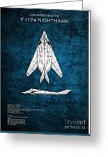 F-117 Nighthawk  Greeting Card
