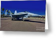 F-18 Hornet Greeting Card