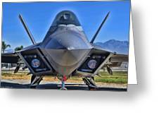 F-22 Raptor 1 Greeting Card