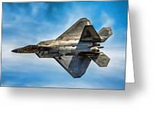F-22 Raptor 4 Greeting Card