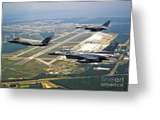 F-35 Lightning II Aircraft In Flight Greeting Card