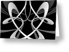 F C - Floating Circumvolution  Greeting Card