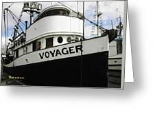 F V Voyager Greeting Card