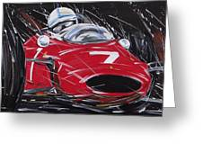 F1 Surtees Ferrari 1964 Greeting Card