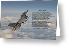 F16 - High Flight Greeting Card