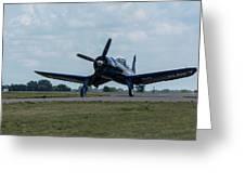 F4u-4 Corsair Airplane 30 Greeting Card