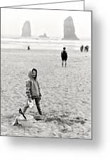 Faa-beach Fun.  Greeting Card