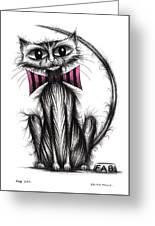 Fab Cat Greeting Card