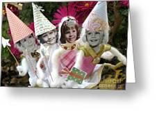 Fab Fairies Greeting Card