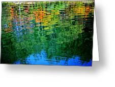 Fabian Pond Reflections3 Greeting Card