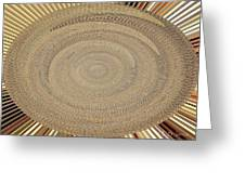 Fabric Design Abstract #9825pc Greeting Card