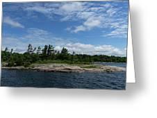 Fabulous Northern Summer - Georgian Bay Island Landscape Greeting Card