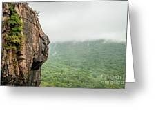 Face Mountain Greeting Card