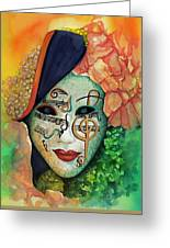 Face The Music Greeting Card