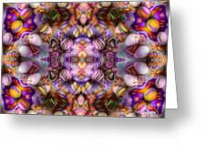 Faces Greeting Card by Bobby Hammerstone