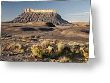 Factory Butte 0552 Greeting Card