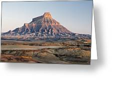 Factory Butte 0761 Greeting Card