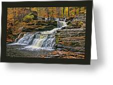 Factory Falls - Childs State Park Greeting Card
