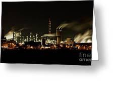 Factory Greeting Card by Nailia Schwarz