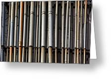 Factory Pipes Greeting Card
