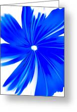 Faded Blue Greeting Card