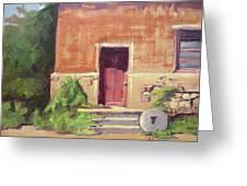 Faded Door Greeting Card