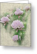 Faded Floral 11 Greeting Card