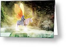 Fae In The Forest Greeting Card
