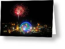 Fair Fireworks Greeting Card
