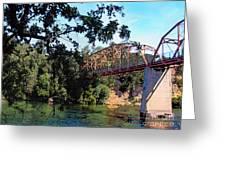 Fair Oaks Bridge Greeting Card