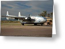 Fairchild Flying Boxcar N15501 Buckeye Arizona Greeting Card