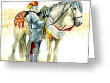 Faire Knight Greeting Card