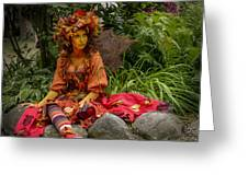 Fairest Fairy At The Faire Greeting Card
