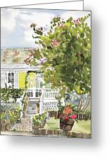 Fairfield Cottage Greeting Card