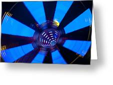 Fairground Abstract Vi Greeting Card