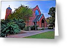 Fairhope Alabama Methodist Church Greeting Card