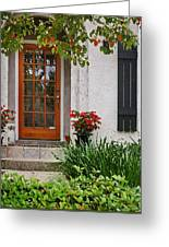 Fairhope Doorway Greeting Card by Michael Thomas