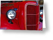 Fairhope Fire Truck Greeting Card