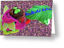 Fairies And Dragons Greeting Card