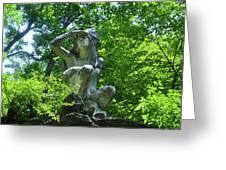 Fairmount Park - The Wissahickon Indian Greeting Card