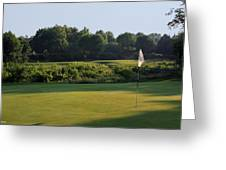 Fairway Hills - 3rd - A Bridge And Marsh To This Par 3 Greeting Card