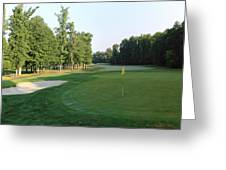 Fairway Hills - 4th - A Straight-in Par 4 Greeting Card